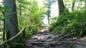 Jastrzębia Góra Weg zum Leuchtturm