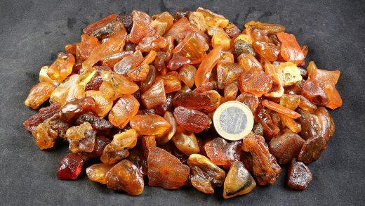 Rohbernstein 1 bis 2 Gramm