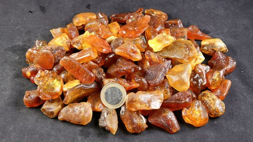 Rohbernstein 2 bis 5 Gramm
