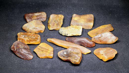 Rohbernstein unbehandelt 5 bis 10 Gramm
