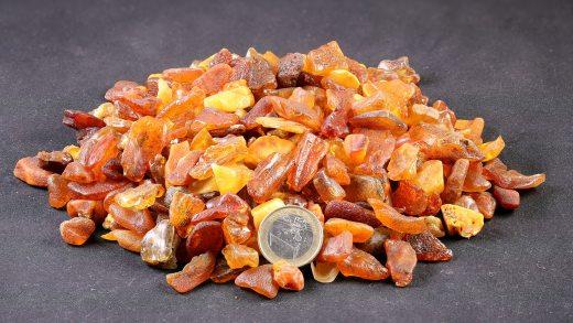 Rohbernstein bis 1 Gramm