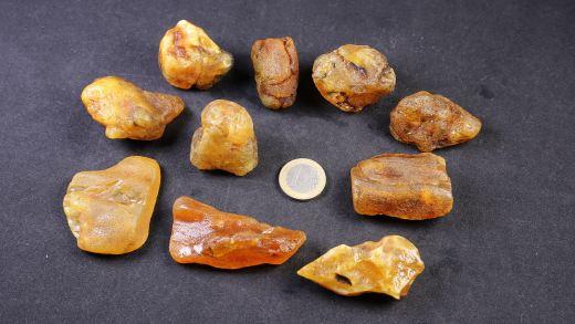 Rohbernstein 10 bis 20 Gramm