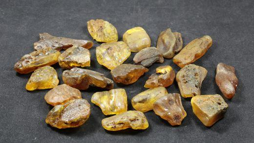 Rohbernstein 5 bis 10 Gramm